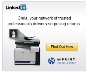 Chris Rainey stars in latest HP Banner Ad